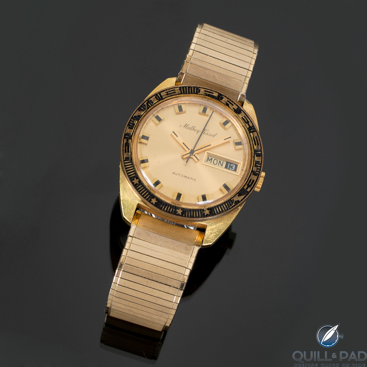 Mathey-Tissot Day-Date once owned by Elvis Presley