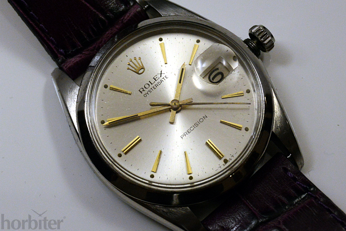 Rolex Oysterdate Precision 6694 for Horbiter 3