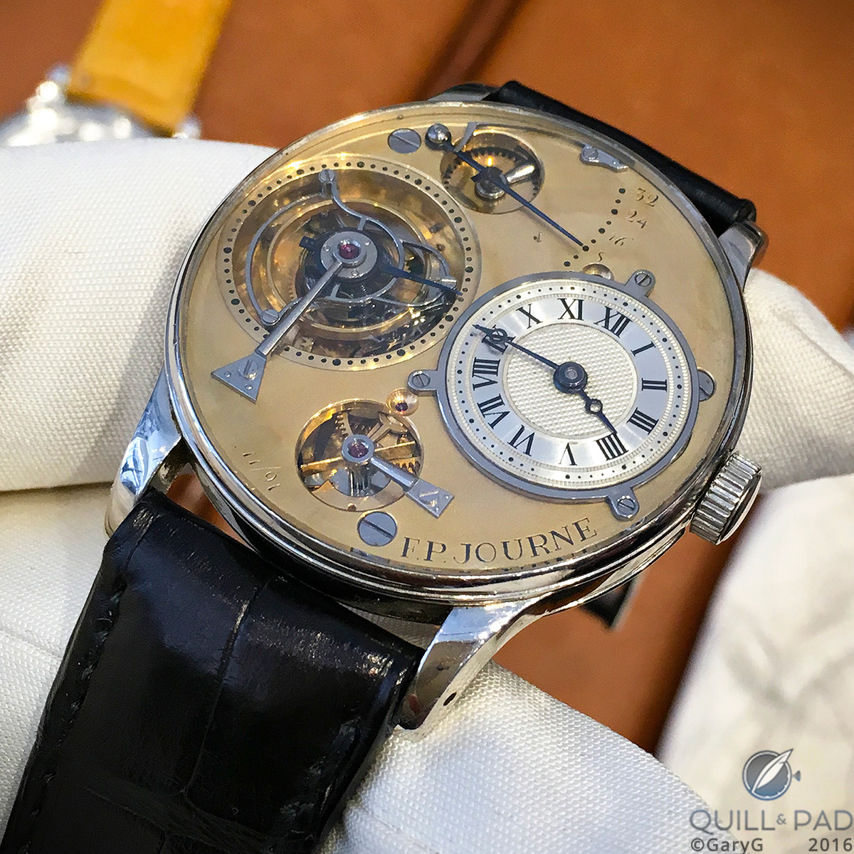 One watch replica to rule them all? The F.P. Journe tourbillon wristwatch prototype of 1991