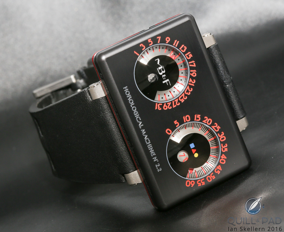 MB&F HM2.2 Black Box by Alain Silberstein was the first of the brand's Performance Art pieces