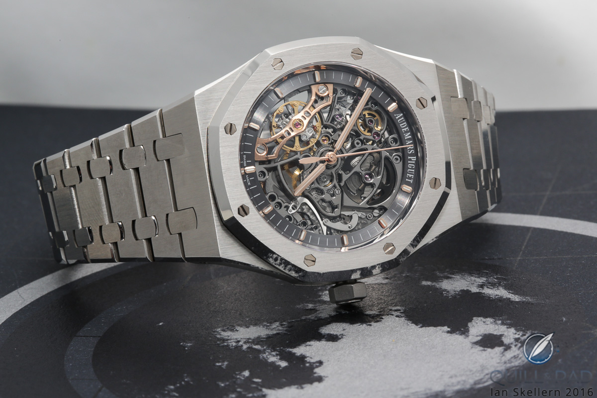42ecc2ef811 Audemars Piguet Royal Oak Double Balance Wheel Openworked in stainless steel