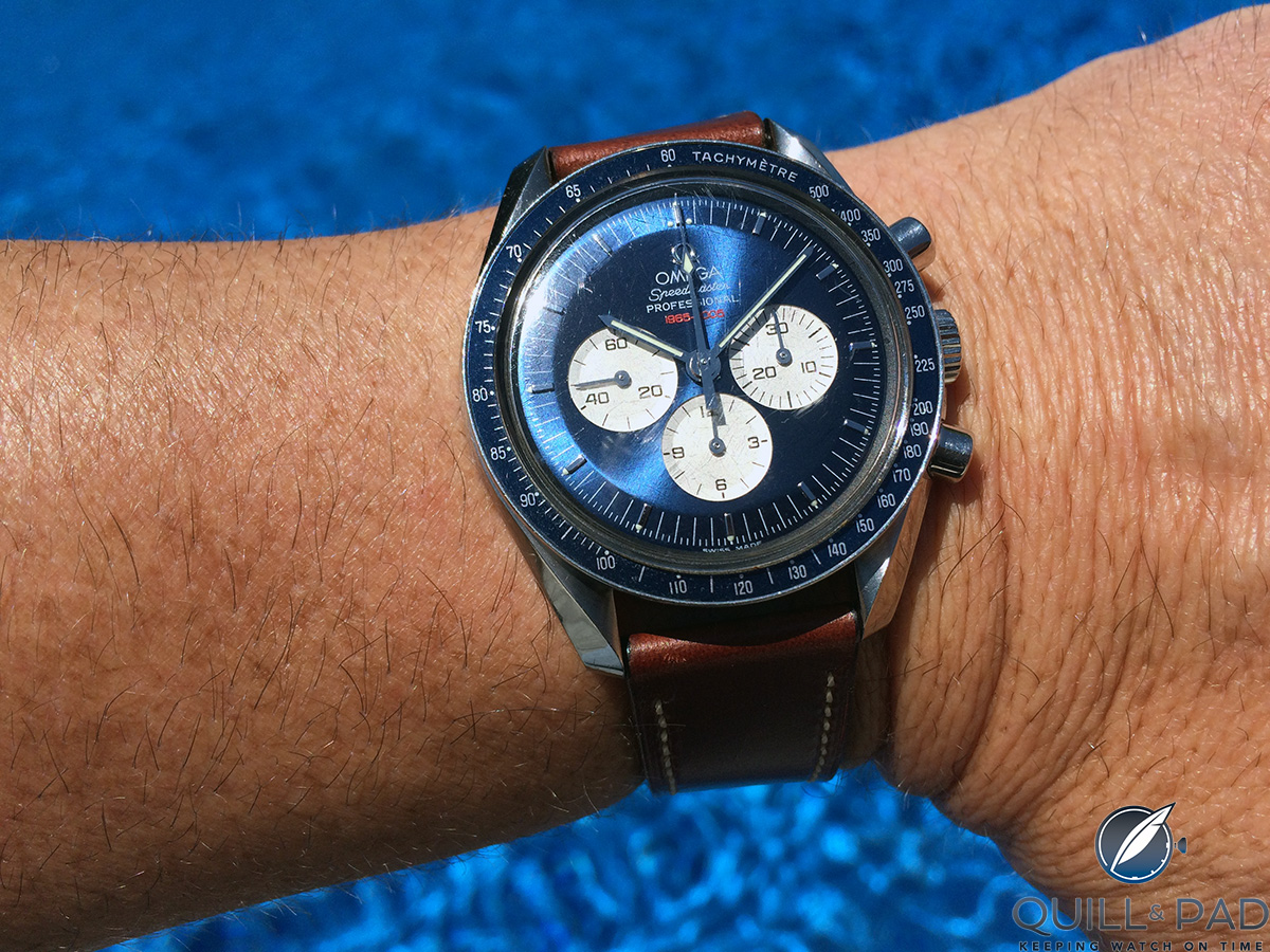 This Omega Speedmaster Professional Limited Edition from 2005 was a true gift from the heart