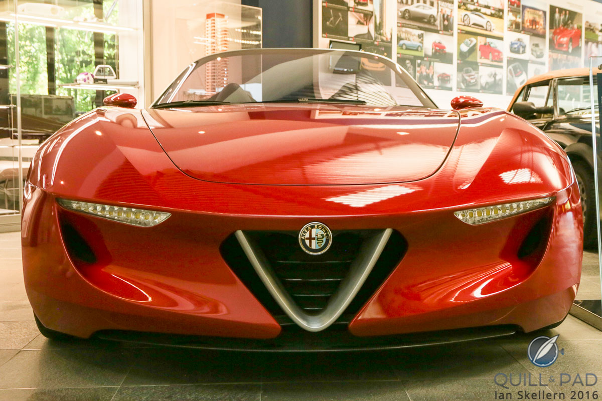 Alfa Romeo 2uettottanta by Pininfarina, a concept car from 2010