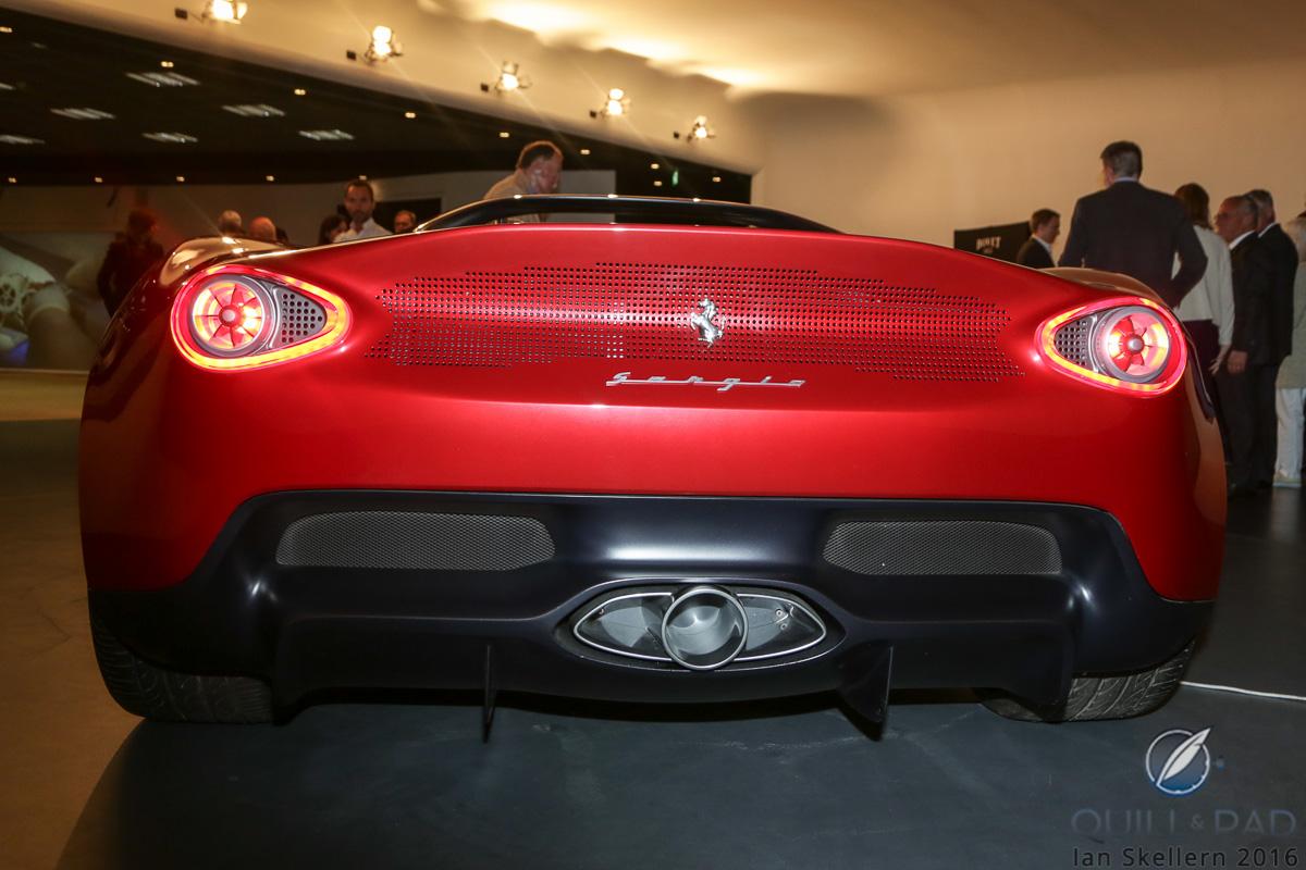 The Ferrari Sergio looks good from any angle