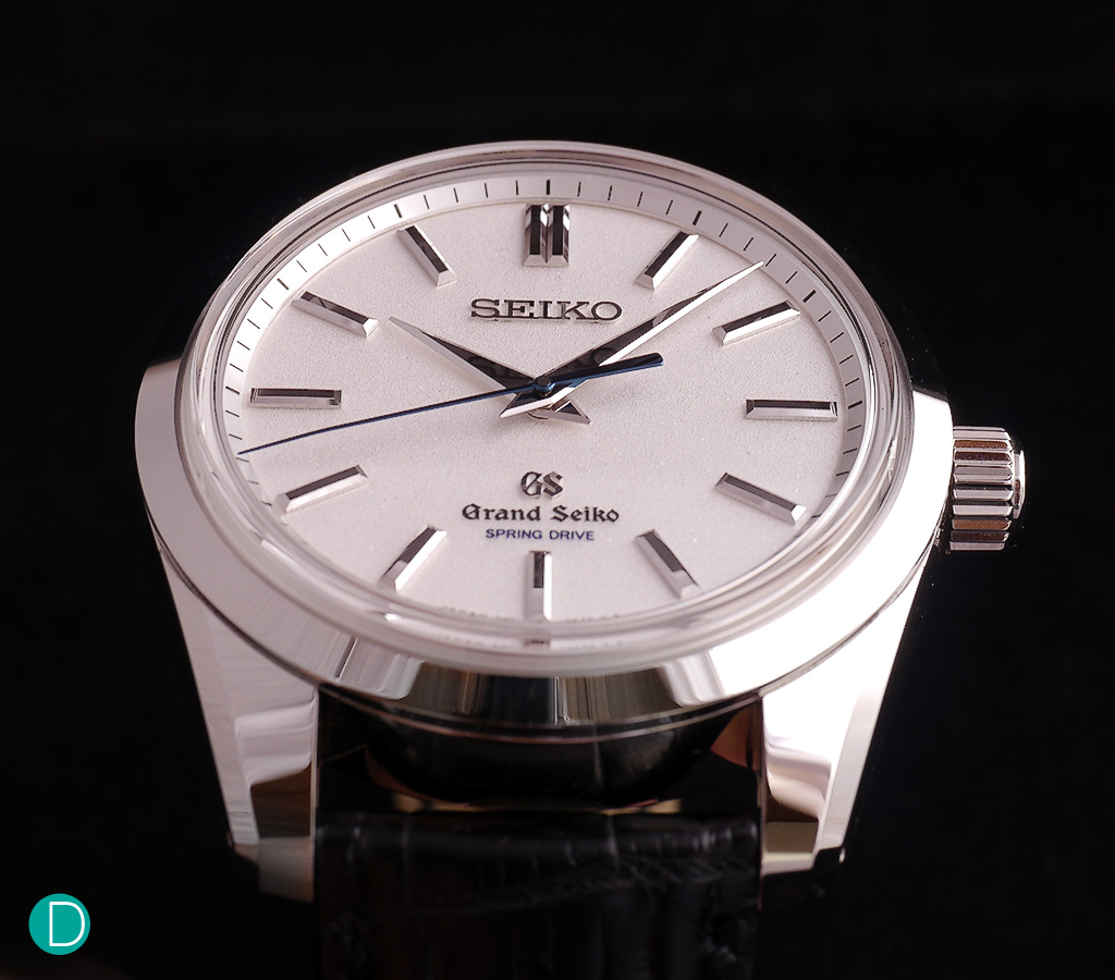 Grand Seiko SGBD001 Spring Drive 8 Day Power Reserve. The design aesthetic is very conservative, and understated. But excellently execution makes up for it.