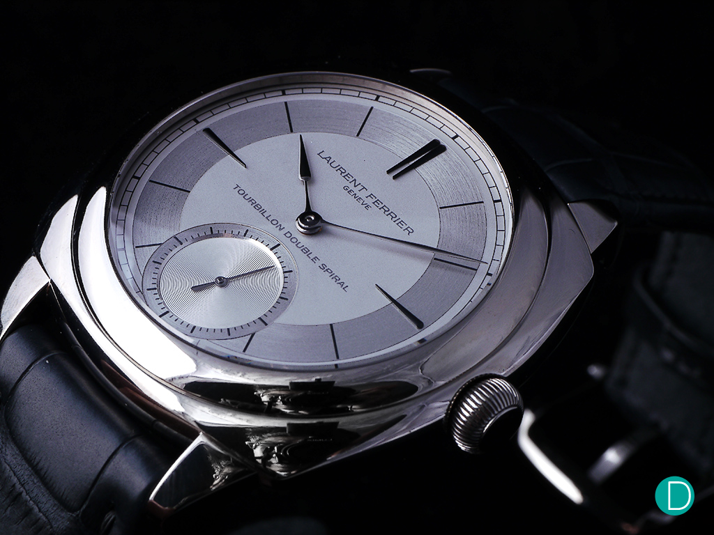 Laurent Ferrier Galet Classic Square Tourbillon with Sector Dial.