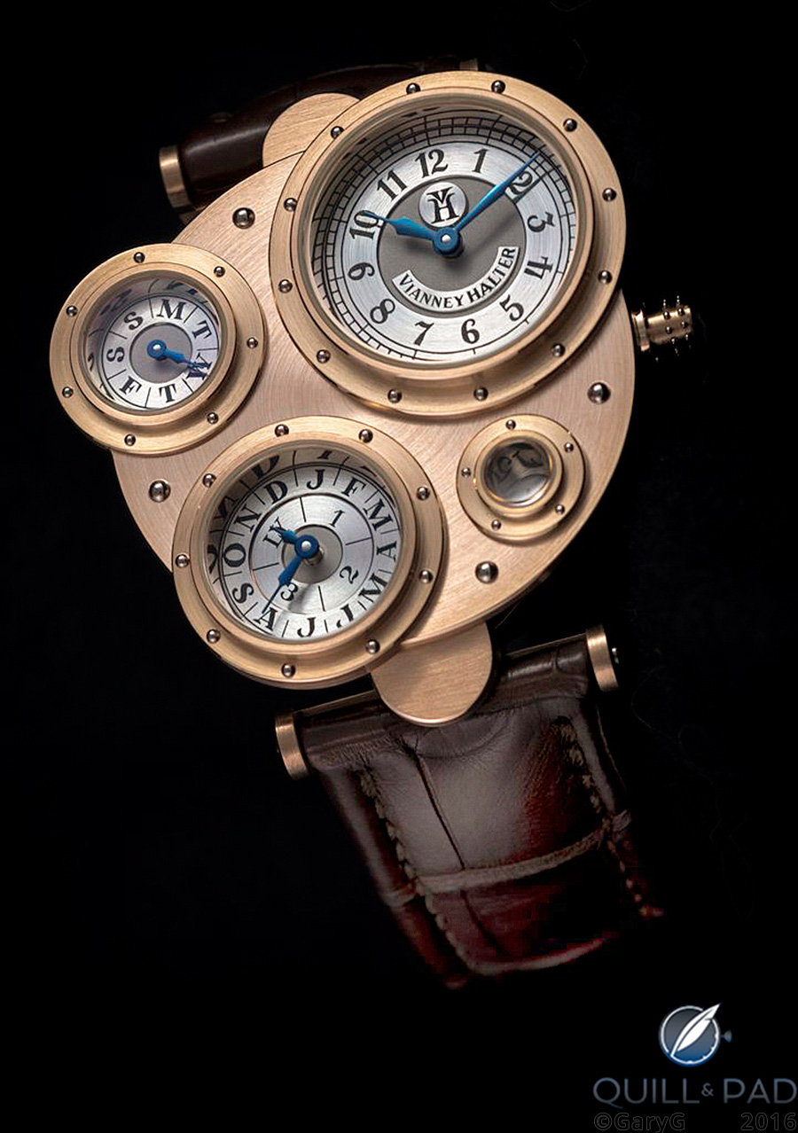 Antiqua by Vianney Halter in pink gold