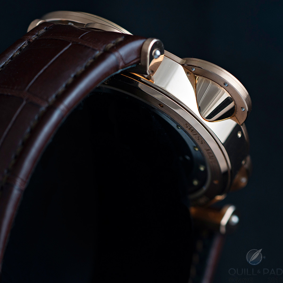 Parting shot: Vianney Halter Antiqua in pink gold