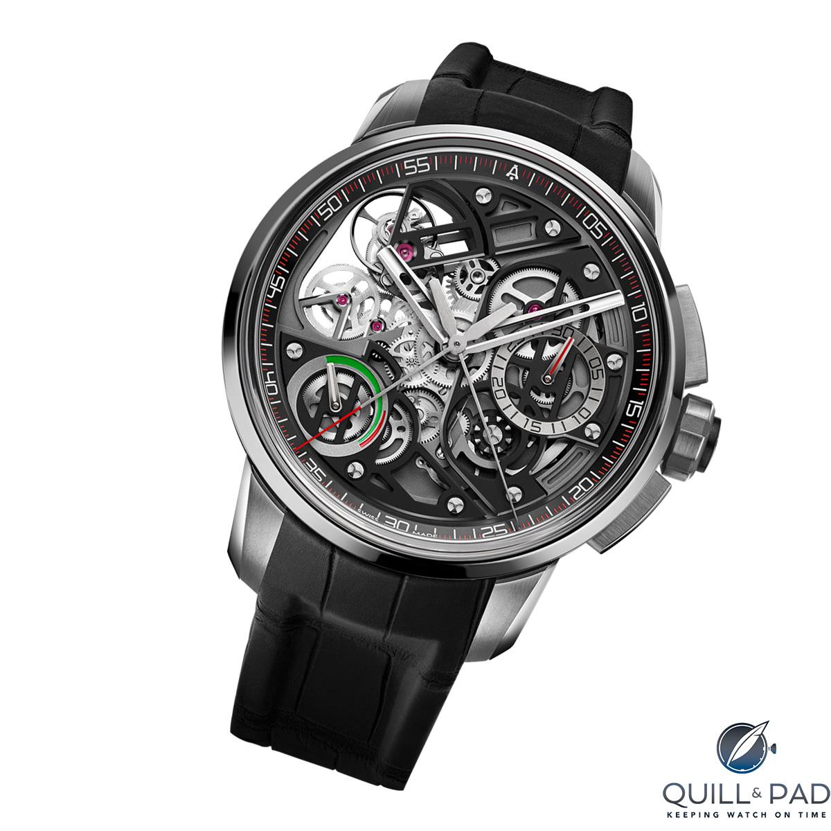 Angelus U30 Tourbillon Rattrapante chronograph