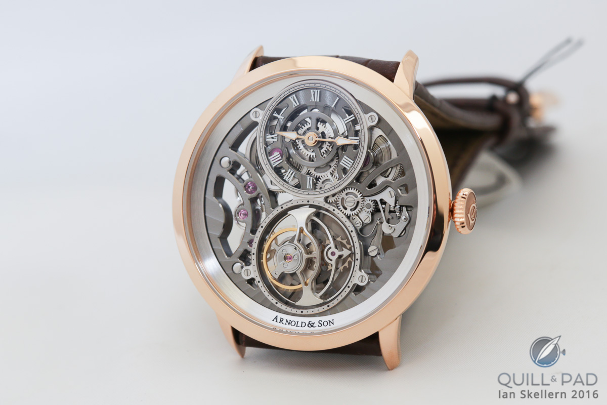 Arnold & Son UTTE Skeleton