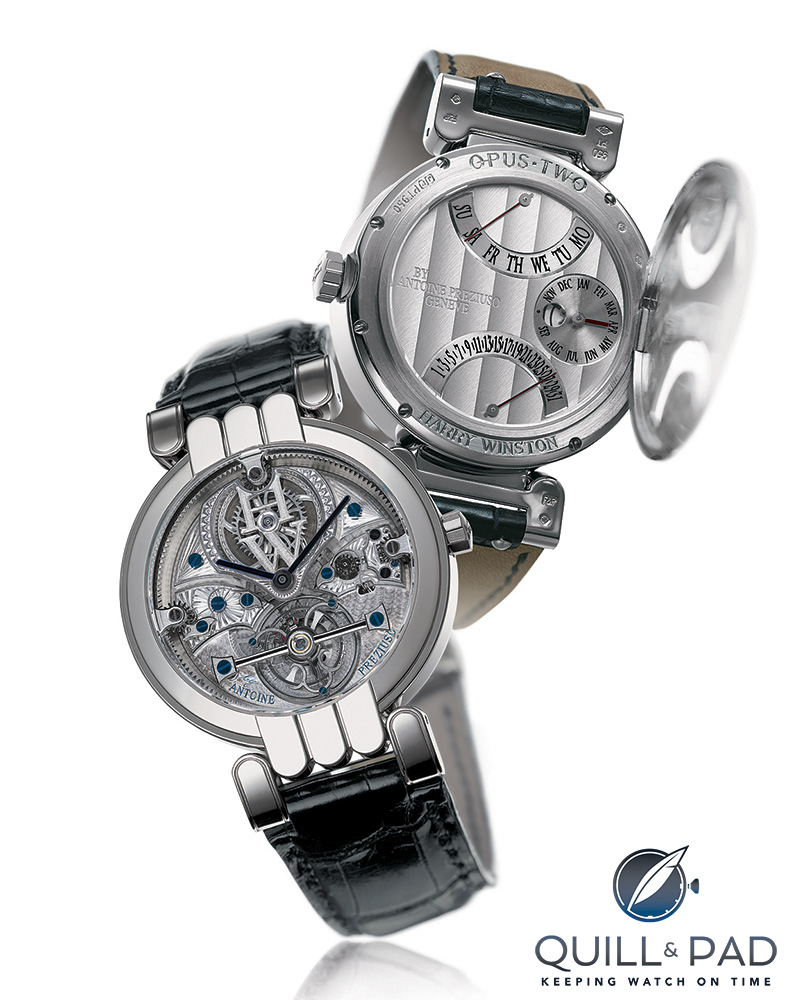 The Opus 2 by Antoine Preziuso for Harry Winston