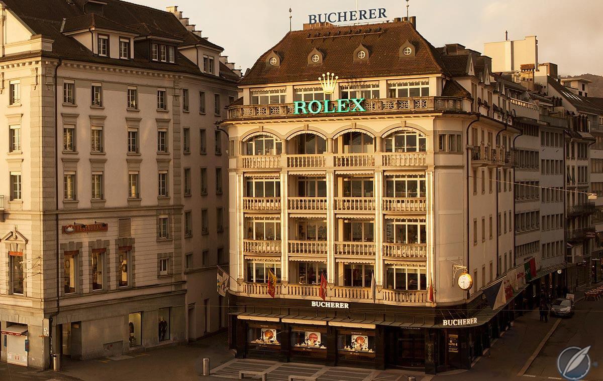 Bucherer store, Schwanenplatz, Lucerne