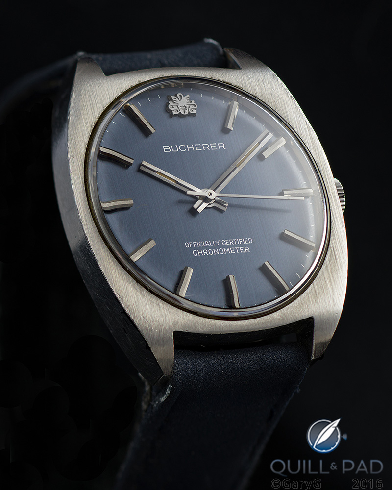 The watch replica that launched GaryG's collection: Bucherer Chronometer
