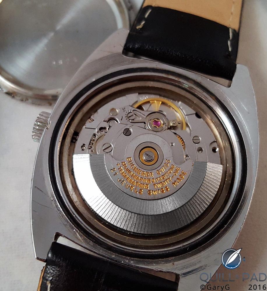 ETA chronometer-grade movement, Bucherer Chronometer