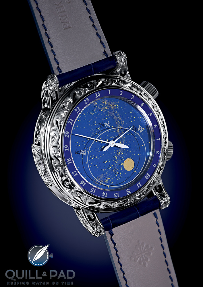 The double-faced Patek Philippe Sky Moon Tourbillon