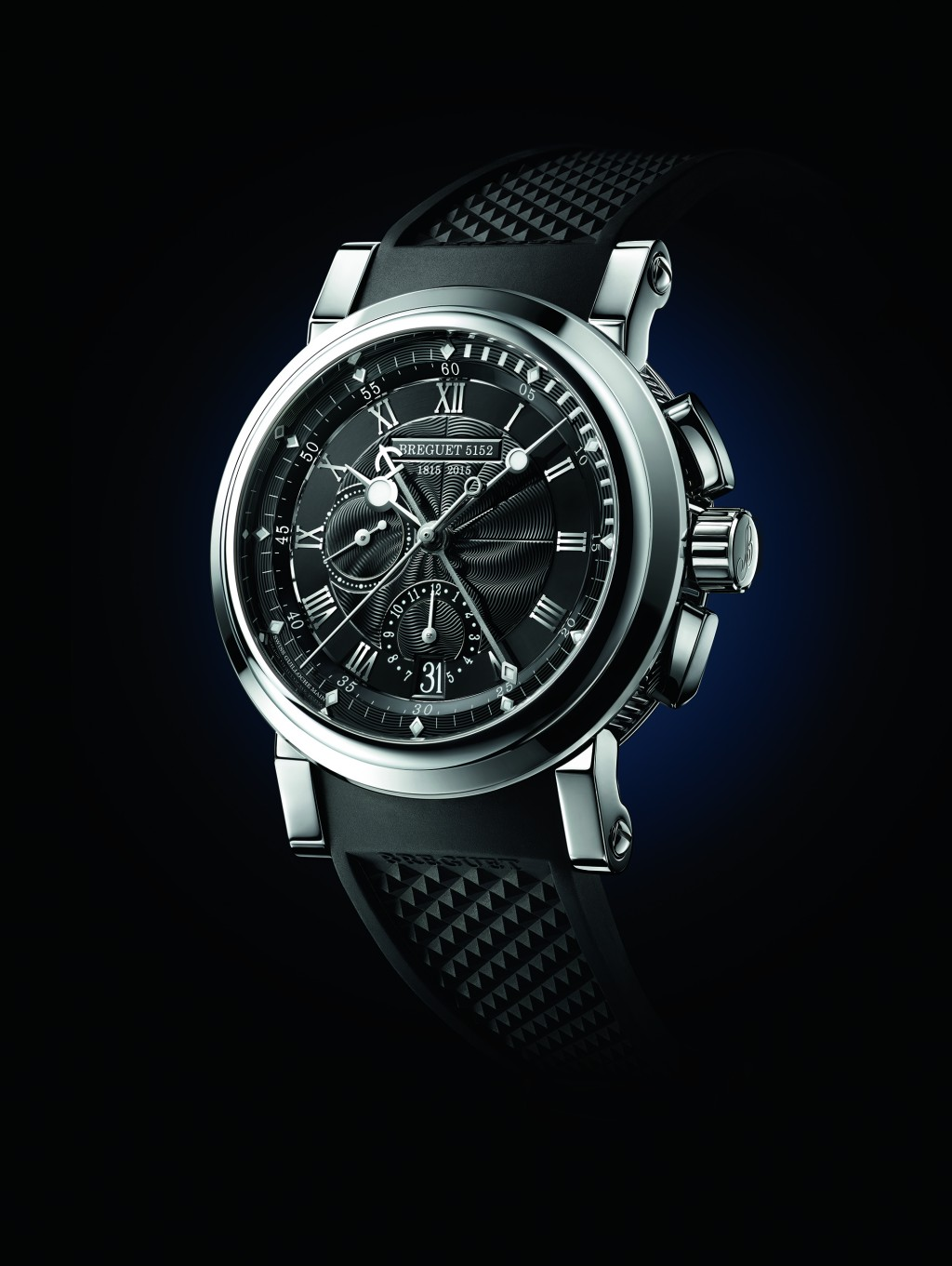 """Another side of Breguet: the sportier, more dynamic Marine Chronographe """"200 Ans De Marine"""" 5823"""