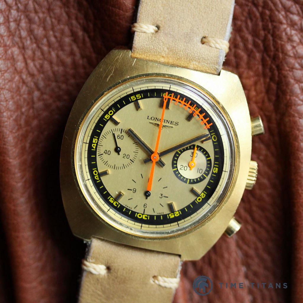ebay vintage watch replica find - Longines Nonius Valjoux 72 Vernier Seconds Hand 1