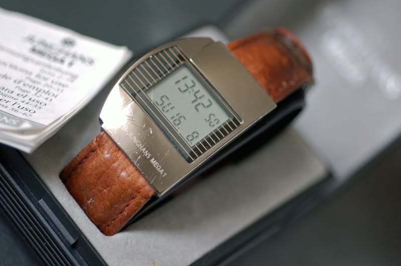 Junghans Mega 1, it was cutting edge for the period it was developed.