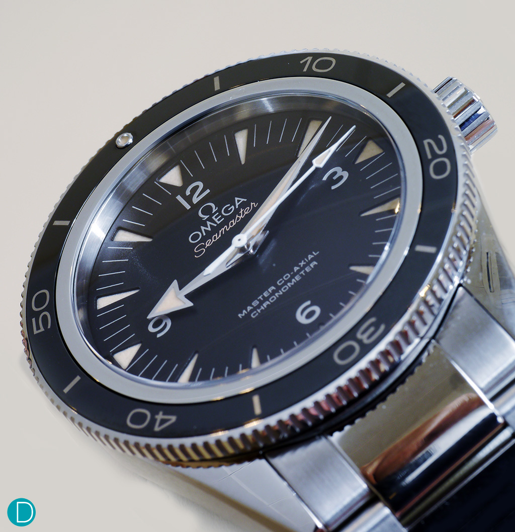 The Omega Seamaster 300. The watch replica , notably, is available in several case options.