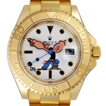 Bamford Watch Department x DRx Popeye Gold Yacht-Master_Cutout_horbiter