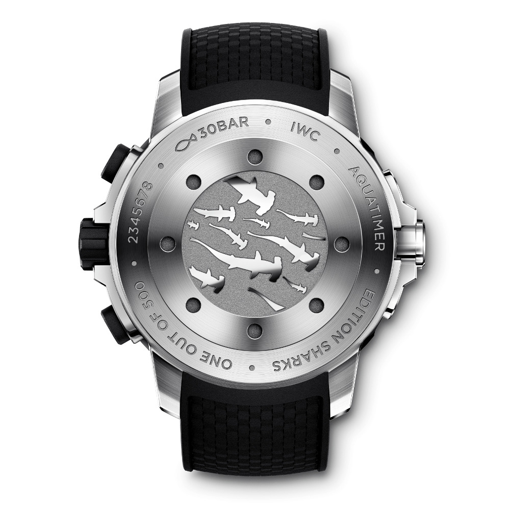 IWC Aquatimer Chronograph Edition Sharks Ref. IW379506 Back