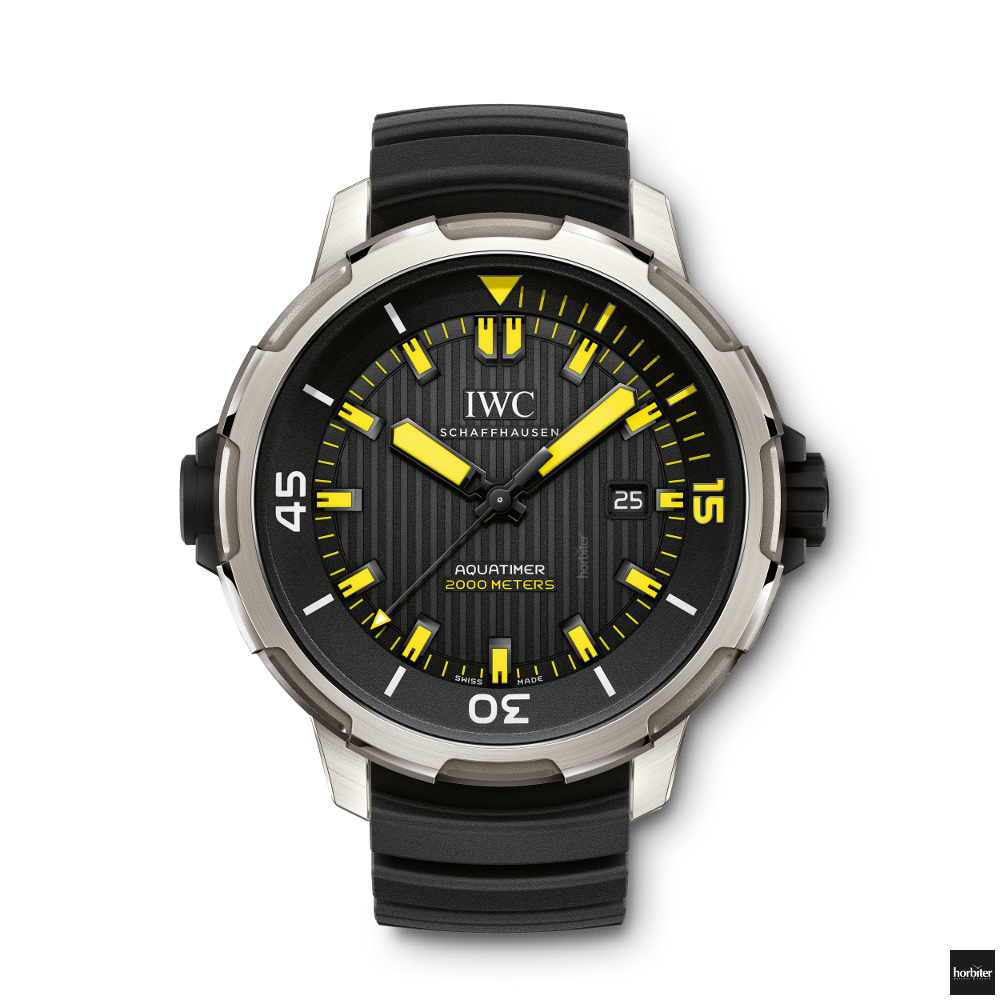 IWC Aquatimer 2000 yellow IW358001