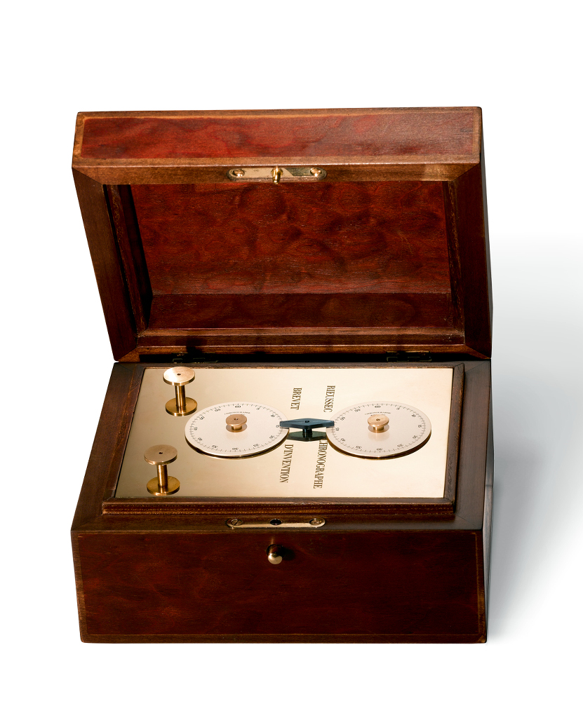 Chronograph invented by Nicolas Rieussec 1821