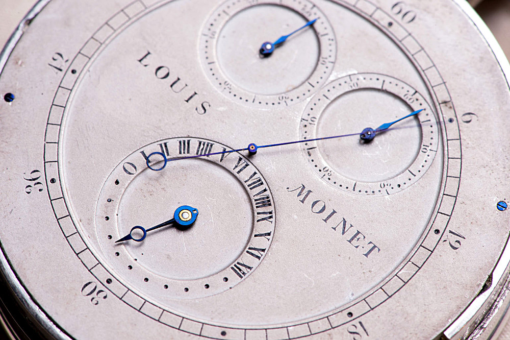 The first ever chronograph by Louis Moinet 11