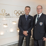 R._Aeschlimann_and_HSH_Prince_Albert_II_of_Monaco_Omega_House_Rio_2016.JPG