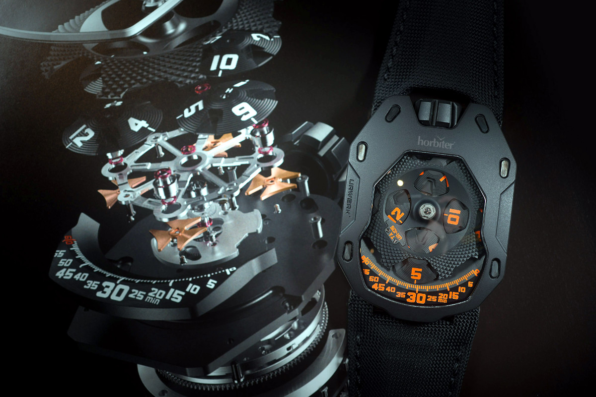 Urwerk UR-105 TA Clockwork Orange