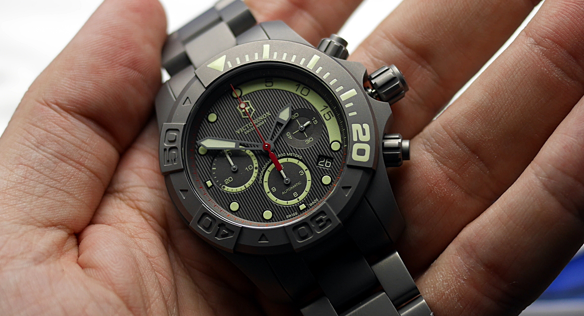 victorinox watches army review dive divemaster watch swiss master geardiary dsc
