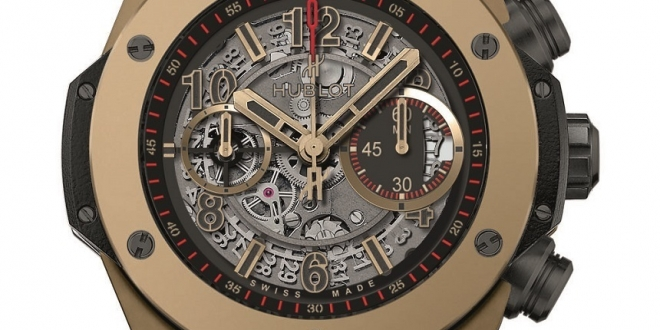 Big Bang Unico And Big Bang Tourbillon From Replica Hublot 5-day Power Reserve Indicator Full Magic Gold Watches