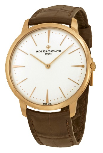 Vacheron-Constantin-Patrimony-Grand-Taille-Automatic-Silver-Dial-Brown-Leather-Mens-Watch