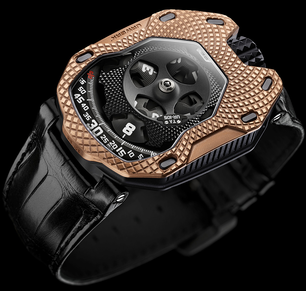 urwerk ur 105 raging gold