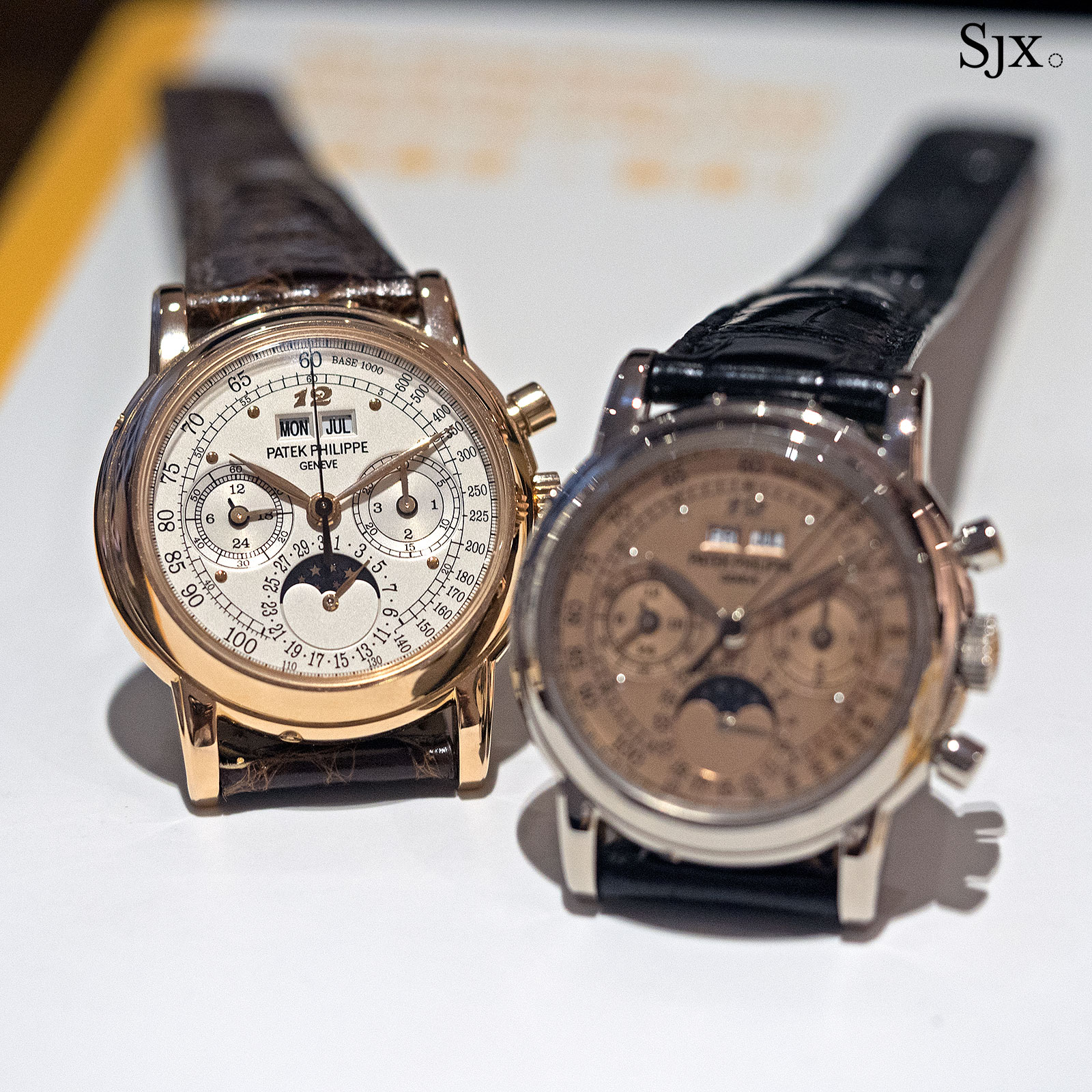 Patek Philippe refs. 3970G and 3970R