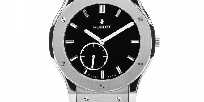High Quality Replica Hublot Classic Fusion Ultra-Thin Black Dial Watches