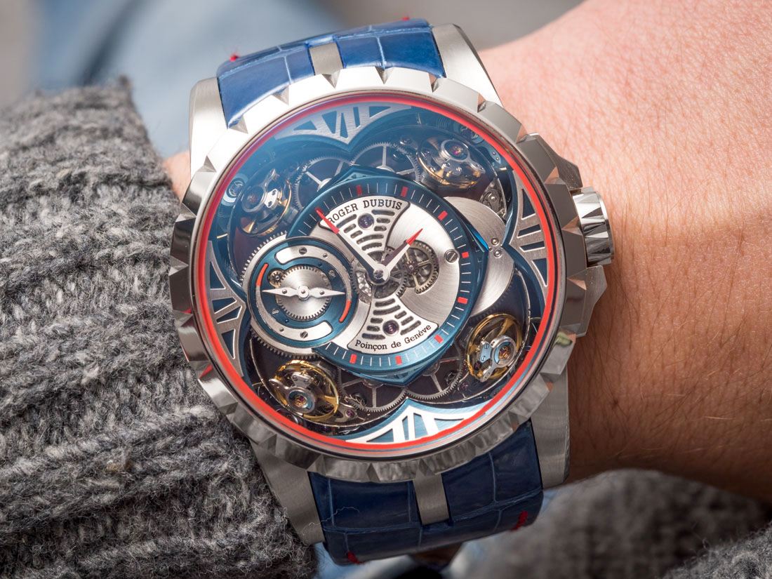 Cheap Replica Roger Dubuis Excalibur Quatuor Cobalt MicroMelt Watch Hands-On