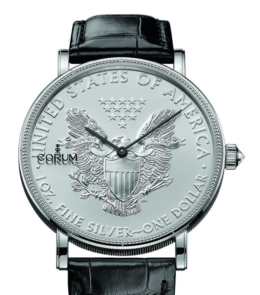 Corum Coin Watch 50th Anniversary Edition Watch Releases