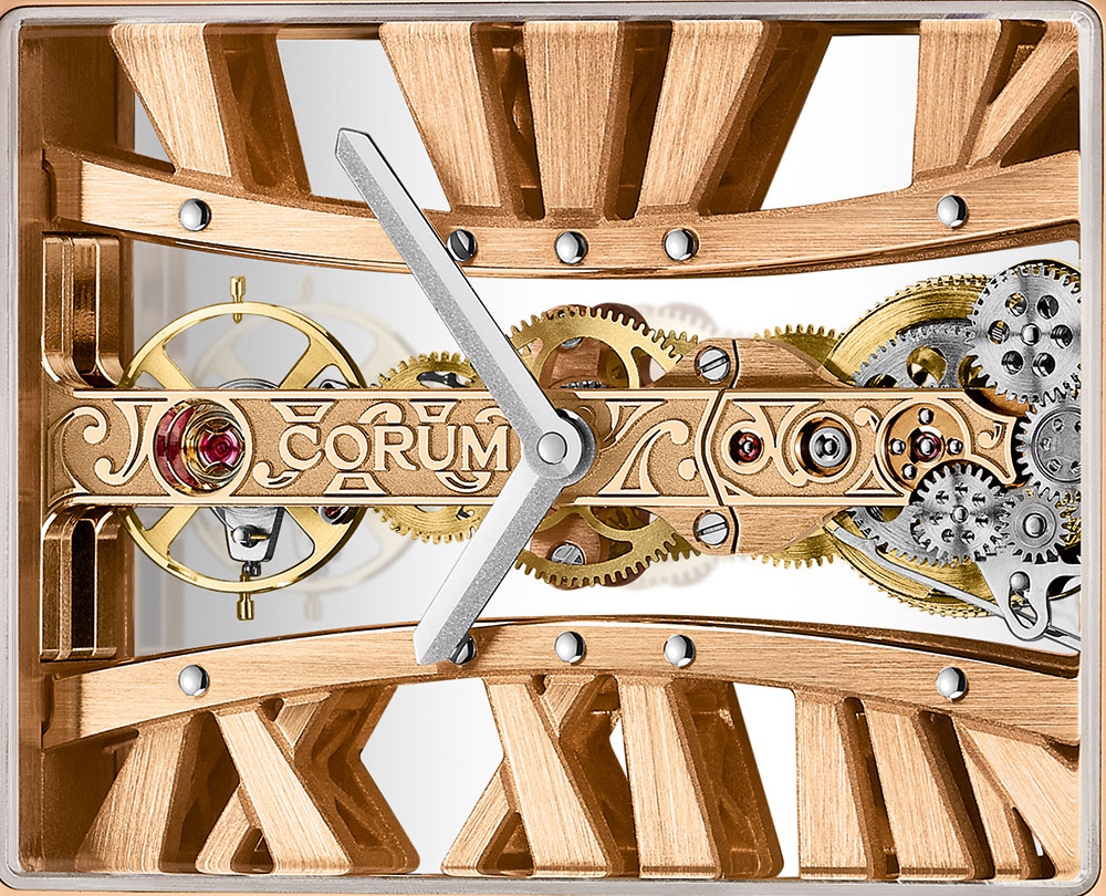 Corum Golden Bridge Rectangle Watch Watch Releases