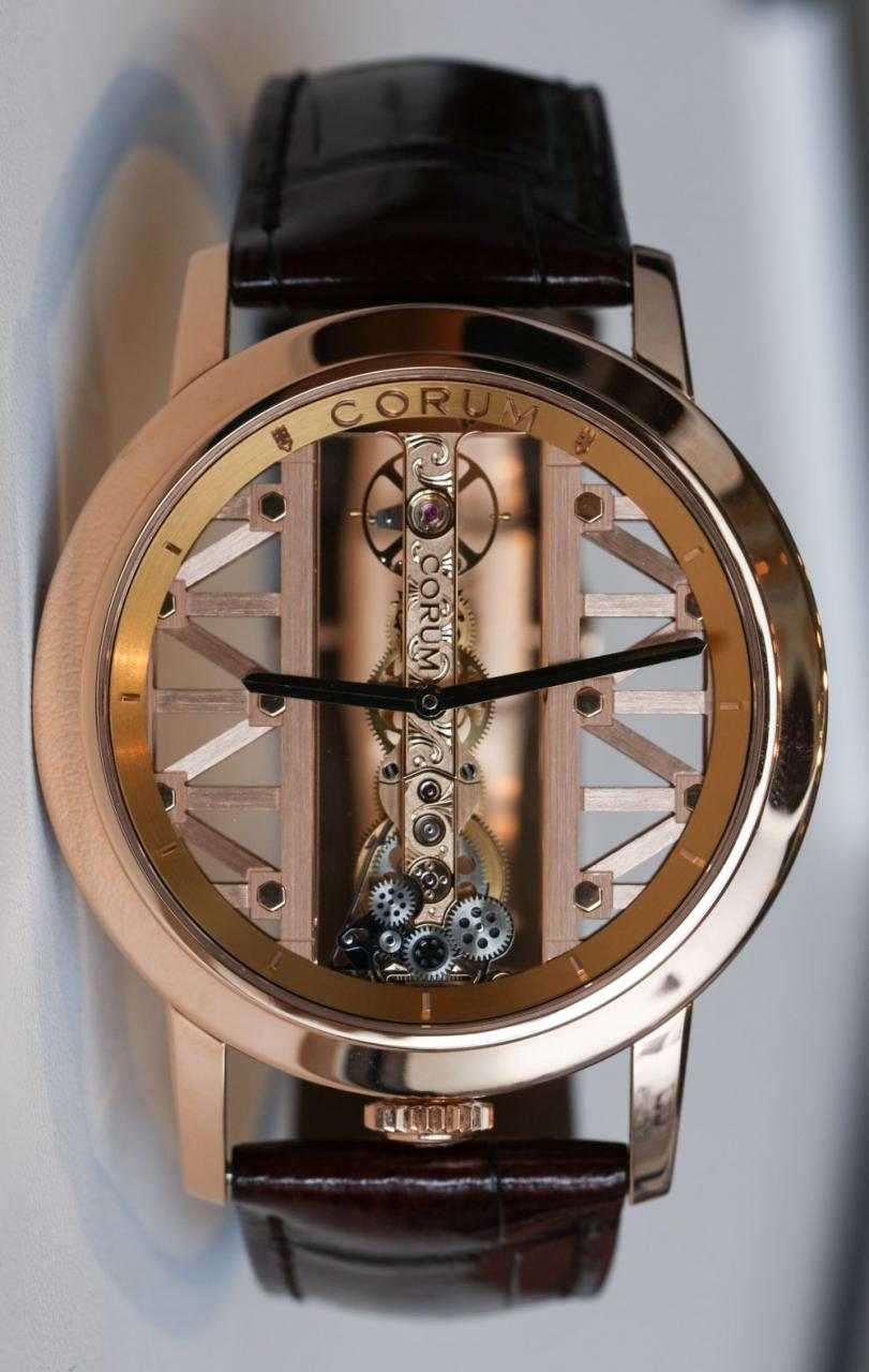 Corum Golden Bridge Round Watch Hands-On Hands-On