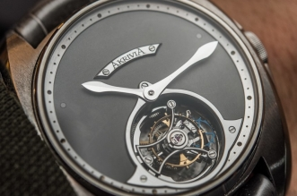 AkriviA Tourbillon Heure Minute Watch Hands-On Hands-On