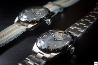 oris divers sixty-five 40mm metal bracelet and nato strap