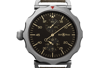 Copy Bell Ross Vintage WW2 Regulateur Heritage Watches
