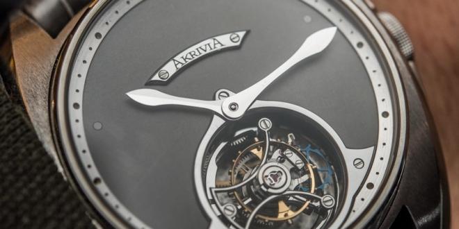 AkriviA Tourbillon Heure Minute Watch Hands-On Hands-On
