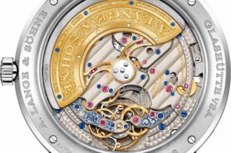 Fake Uhren A. Lange & Söhne Lange 1 Tourbillon Ewiger Kalender 25. Geburtstag Limitierte Auflage
