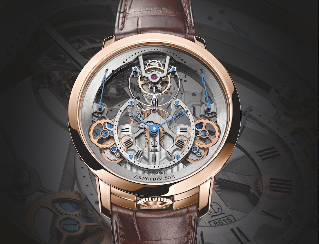 Arnold & Son Time Pyramid Tourbillon fake Watches