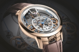 Arnold & Son Time Pyramid Tourbillon Replica Watches